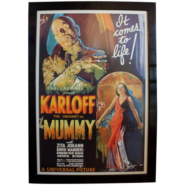 """""""The Mummy"""" Movie Poster by Morgan Litho Company - Image 1 of 11"""