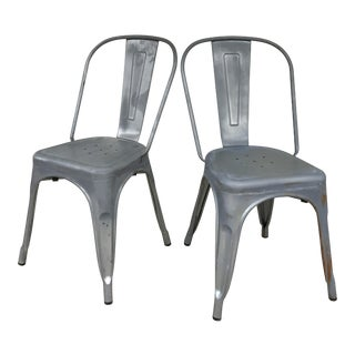 French Bistro Chairs - A Pair