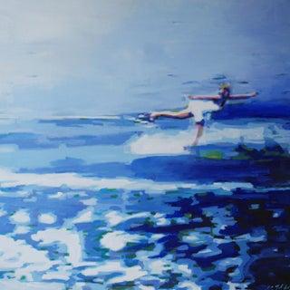 Lisa Golightly in Reverse Original Painting