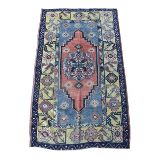 "Turkish Oushak Ushak ""Aragon"" Rug - 3′7″ × 5′10″"