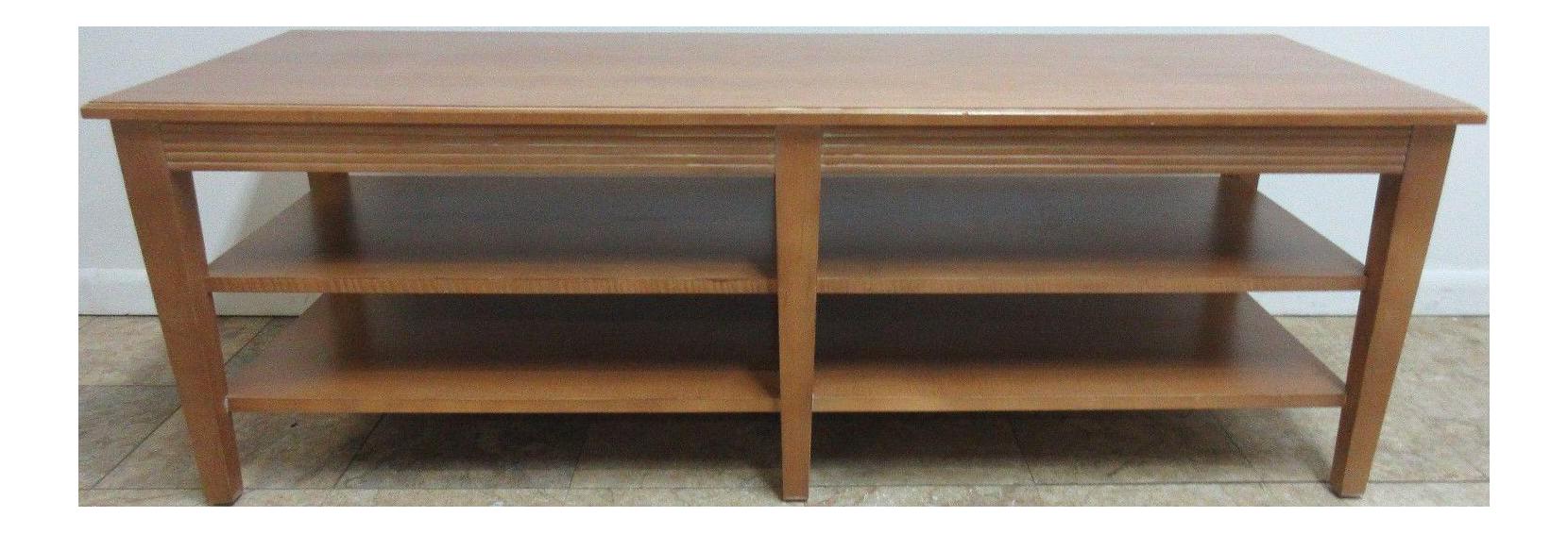 Ethan Allen Swedish Home Long Coffee Table