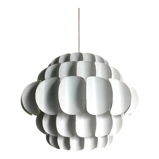 White Metal Petal Pendant by Thorsten Orrling for Hans Agne Jakobsson