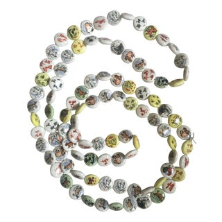 Chinese Astrological Signs Porcelain Beads
