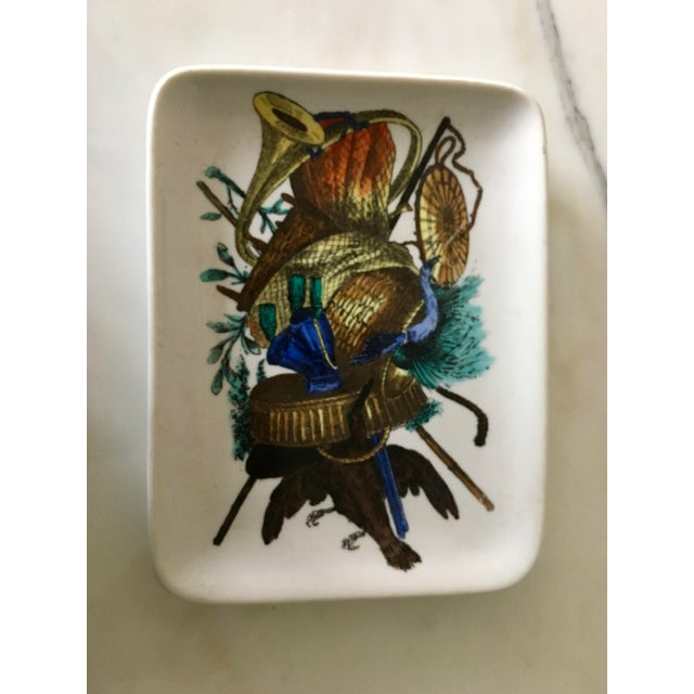Vintage Fornasetti Decorative Trinket Dish, Tray, Plate, Accessories - Image 3 of 6