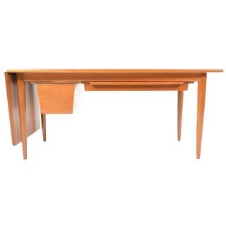 Danish Modern Drop Leaf Coffee Table