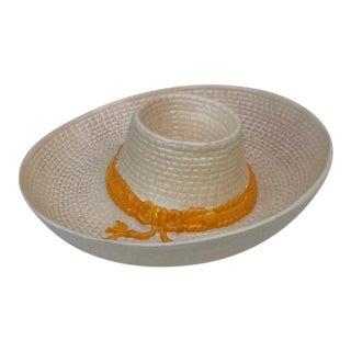 Vintage Sombrero Dip & Chip Platter Tray