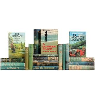 Blue & Green Midcentury Novels - S/20
