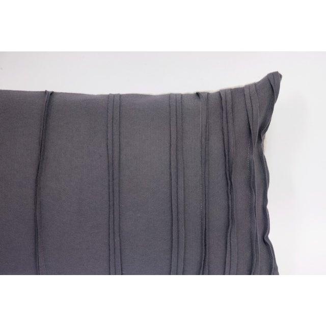 Image of Wool Felt & Canvas Pillow