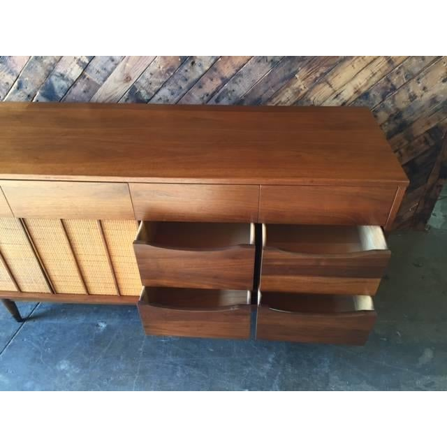 Image of Mid Century Walnut Dresser by Hooker