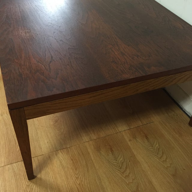 Mid-Century Modern Square Coffee Table - Image 11 of 11
