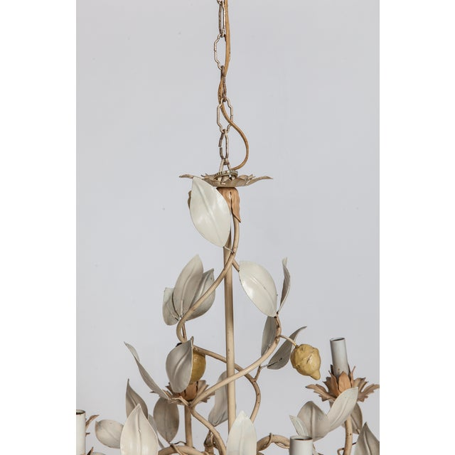 Image of Italian Lemon Tole Chandelier