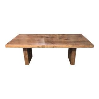 Modern Teak Dining Table