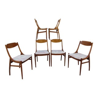 Barney Flagg for Drexel Parallel Dining Chairs - Set of 6