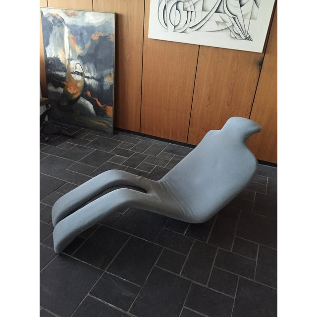 SOLD:Vintage Olivier Mourgue Djinn Bouloum Chaise - Image 2 of 5