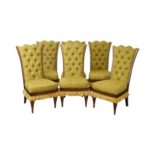 Lauren Brooks for Vanguard Tufted Dining Chairs - Set of 6