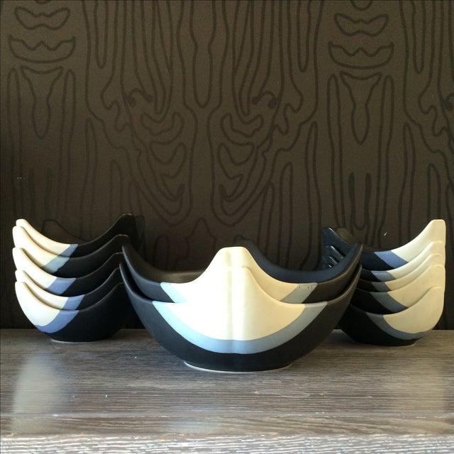 Ceramic Bowl Set - Set of 12 - Image 2 of 10