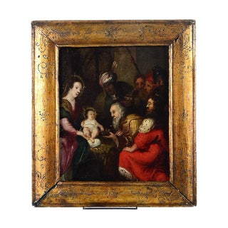 18th Century Italian Old Master -Adoration of the Magi