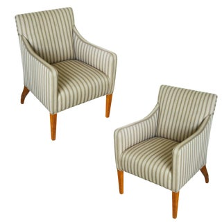 Tommi Parzinger Style Club Chairs