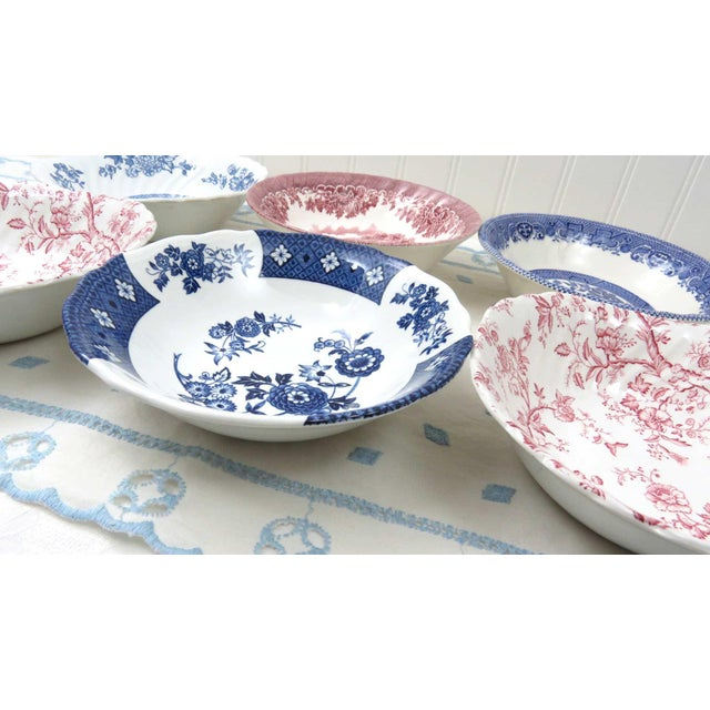Mismatched Ironstone China Set, Service for 6 - Image 10 of 11