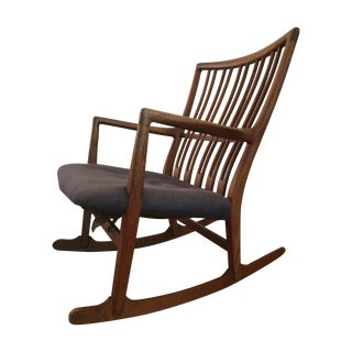 Hans Wegner ML-33 Rocking Chair for Mikael Laursen