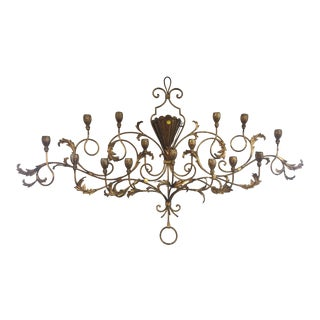 Ornate Venetian Wall Candelabra