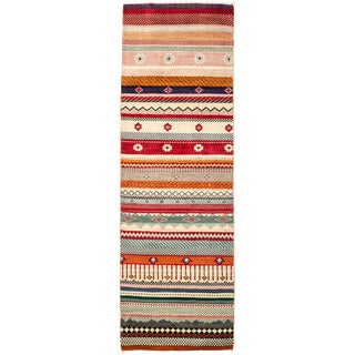 Lori Hand Knotted Runner - 2' X 6'4""