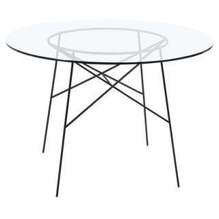 Roy Wire Frame Iron Dining Table