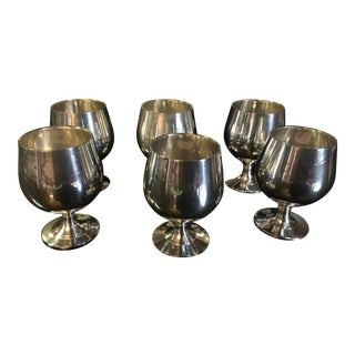 Vintage Silverplated Drinkware - Set of 6