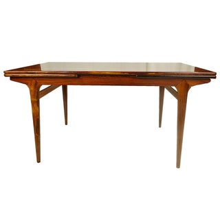 Vintage Danish Rosewood Dining Table