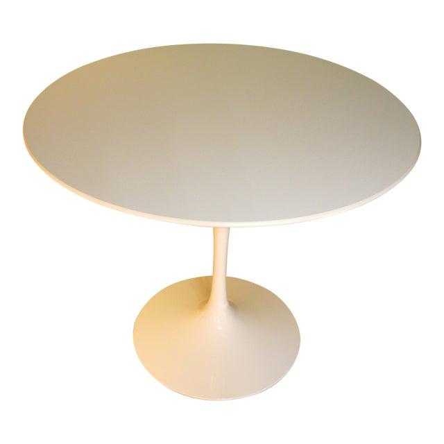 Saarinen White Laminate Dining Table - Image 1 of 9