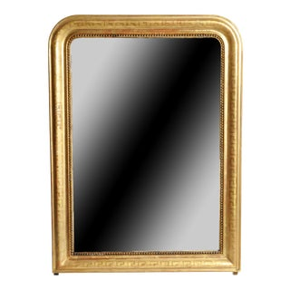 Gold Gilded Mirror with Original Glass