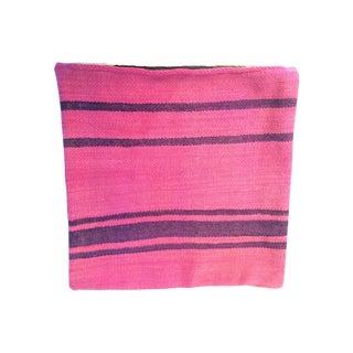 Fuchsia Moroccan Kilim Pillow Cover