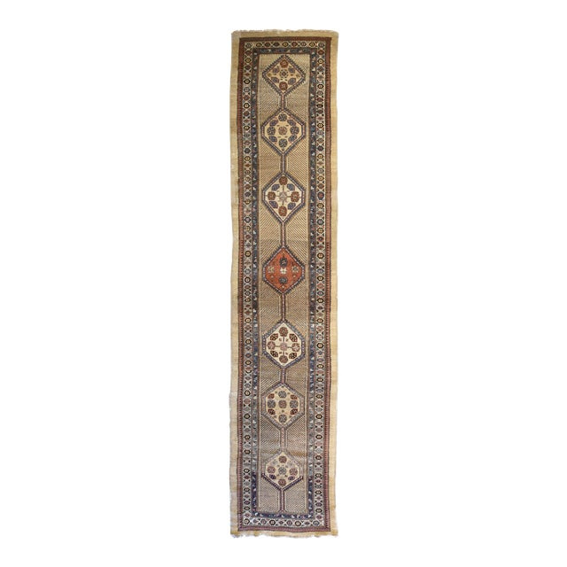 Vintage North West Persian Hall Runner - Image 1 of 5