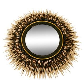 Contempoary Faux Porcupine Quill Mirror