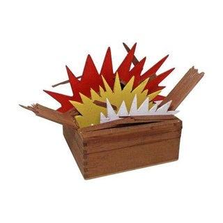 "Tom Trubshaw ""Exploding Box No. 1"" Sculpture"