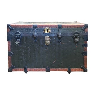 F.V. Garland Steamer Trunk