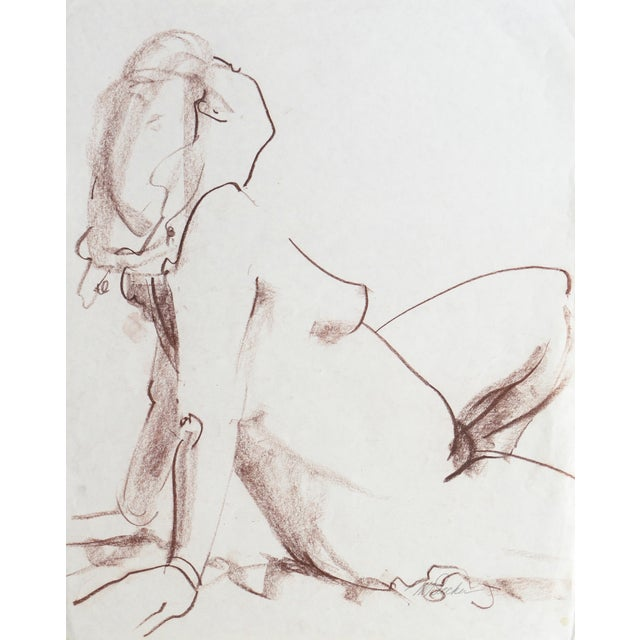 Image of Seated Nude by Michael Decker