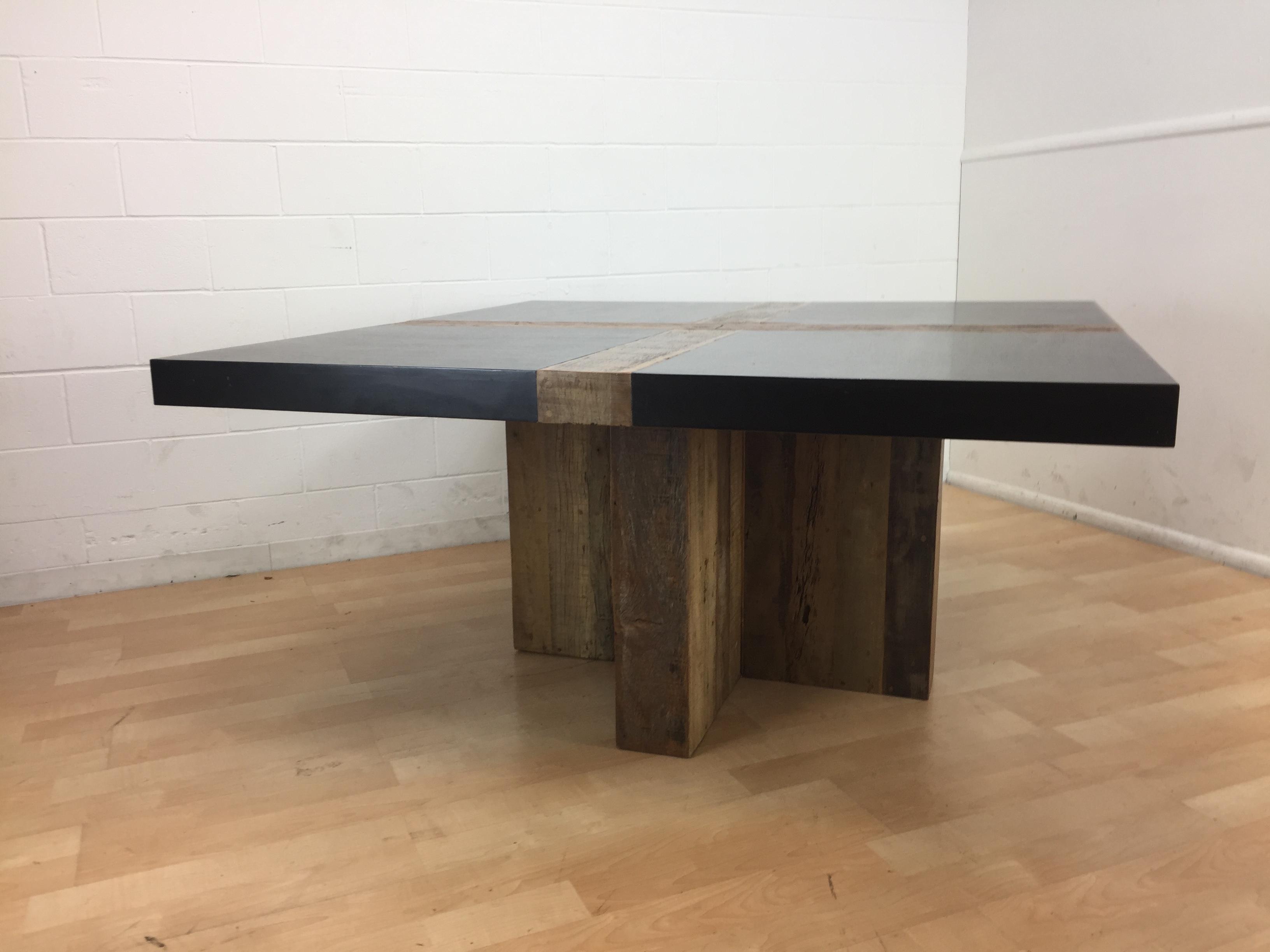 brazilian wood furniture. reclaimed brazilian wood environment furniture santos dining table image 4 of 11