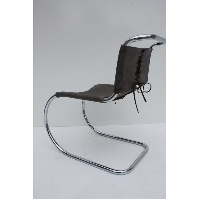 Knoll MR Side Chair By Mies Van Der Rohe - Image 6 of 9