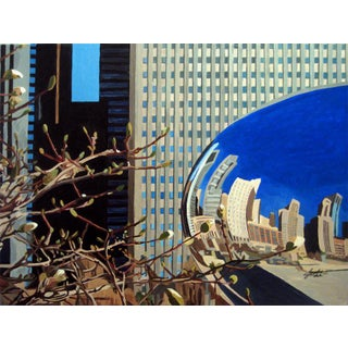 Contemporary Giclee Print - The Bean Two