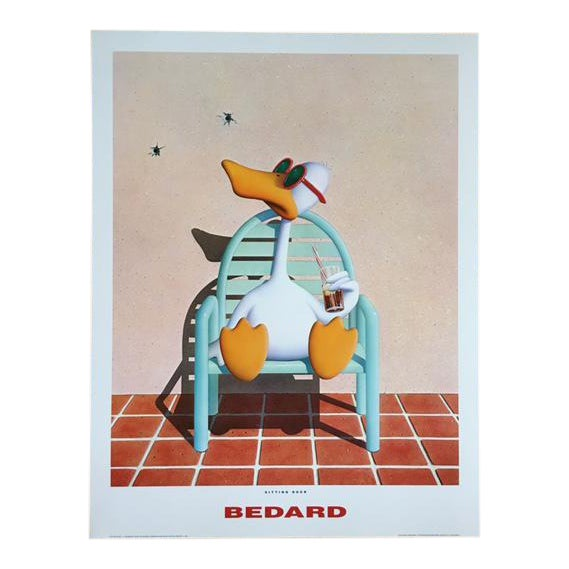 Michael Bedard Sitting Duck Lithograph - Image 1 of 9