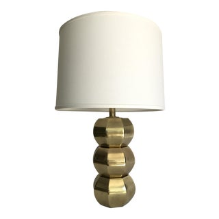 Westwood Vintage Brass Geometric Table Lamp