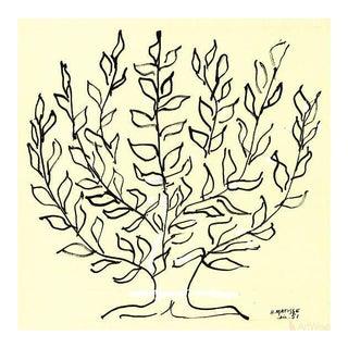 "Henri Matisse ""The Bush"" Serigraph Print"