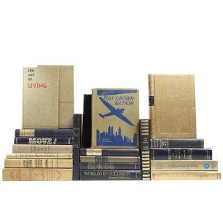 Metallic Black & Gold Books - Set of 20