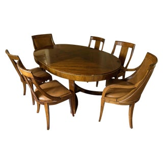 7-Piece Baker Art Deco Dining Set