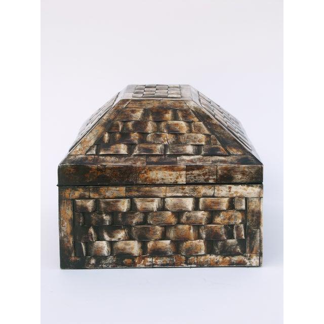 Decorative Bone Boxes : Decorative camel bone box chairish