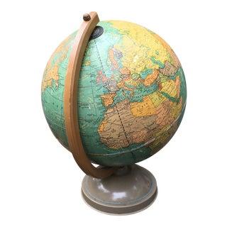 1940s Cram's Universal Terrestrial Globe
