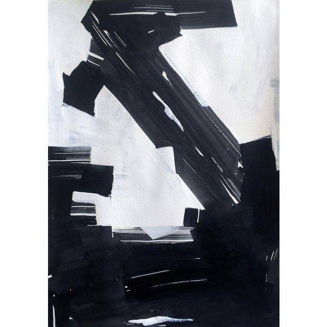 "Image of Linda Colletta ""Upwards"" Acrylic Painting"