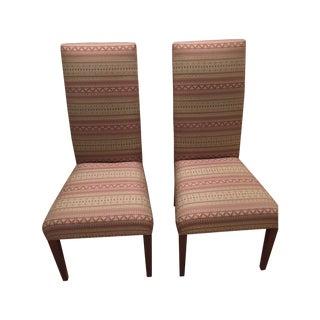 Swaim High Back Chairs - A Pair