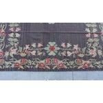 Image of Bessarabian Floral Kilim Area Rug - 8' X 5'